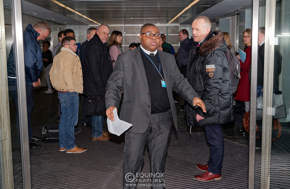 London, United Kingdom - 23 March 2018<br /> The Information Commissioner's Office executes a search warrant on Cambridge Analytica, 55 New Oxford Street, London, England, UK, Europe.<br /> www.newspics.com/#!/contact<br /> (photo by: EQUINOXFEATURES.COM)<br /> Picture Data:<br /> Photographer: Equinox Features<br /> Copyright: ©2018 Equinox Licensing Ltd. +448700 780000<br /> Contact: Equinox Features<br /> Date Taken: 20180323<br /> Time Taken: 19584654