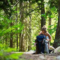 North Cascades National Park near Stehekin, Washington.