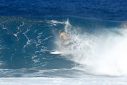 December 18, 2017 - Oahu, Hawaii, U.S. - Reigning World Champion and current World No.1 on the Jeep Leaderboard John John Florence of Hawaii advances to the Semifinals of the 2017 Billabong Pipe Masters after winning Quarterfinal Heat 2 at Pipe, Hawaii, USA.  Florence needs one more heat win to secure a second World Title...Billabong Pipe Masters 2017, Hawaii, USA - 18 Dec 2017 (Credit Image: © WSL via ZUMA Wire/ZUMAPRESS.com)