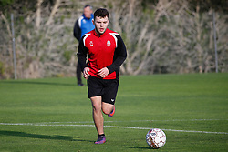 January 6, 2018 - Cadiz, SPAIN - Mouscron's Sebastjan Spahiu pictured during the first day of the winter training camp of Belgian first division soccer team Royal Excel Mouscron, in Cadiz, Spain, Saturday 06 January 2018. BELGA PHOTO BRUNO FAHY (Credit Image: © Bruno Fahy/Belga via ZUMA Press)
