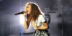 © Licensed to London News Pictures. 12/10/2013, UK. 5 Jade Thirlwall; Little Mix, Girlguiding BIG GIG, Wembley Arena, London UK, 12 October 2013. Photo credit : Richard Goldschmidt/Piqtured/LNP