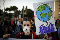 March 23, 2019 - Rome, Italy - March against the climate change. (Credit Image: © Vincenzo Livieri/LaPresse via ZUMA Press)