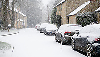 Stratton audley oxfordshire in the snow ,24th jan 2021.photo by Brian Jordan