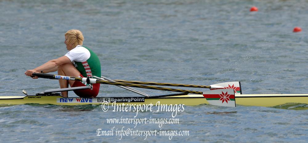 2005 FISA World Cup, Dorney Lake, Eton, ENGLAND, 28.05.05. BLR W1X Gold medallist Ekaterina Karsten. Photo  Peter Spurrier. .email images@intersport-images.....[Mandatory Credit Peter Spurrier/ Intersport Images] , Rowing Courses, Dorney Lake, Eton. ENGLAND