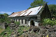 Girls Convent, Mangareva, Gambier Islands, French Polynesia<br />