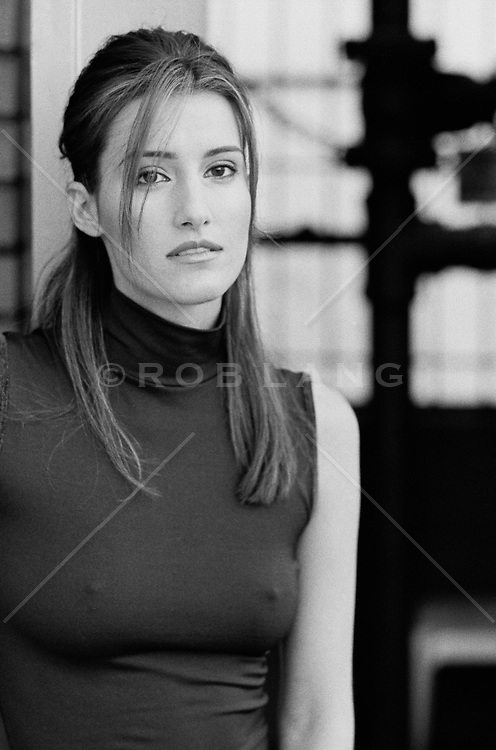 portrait of a young woman in New York