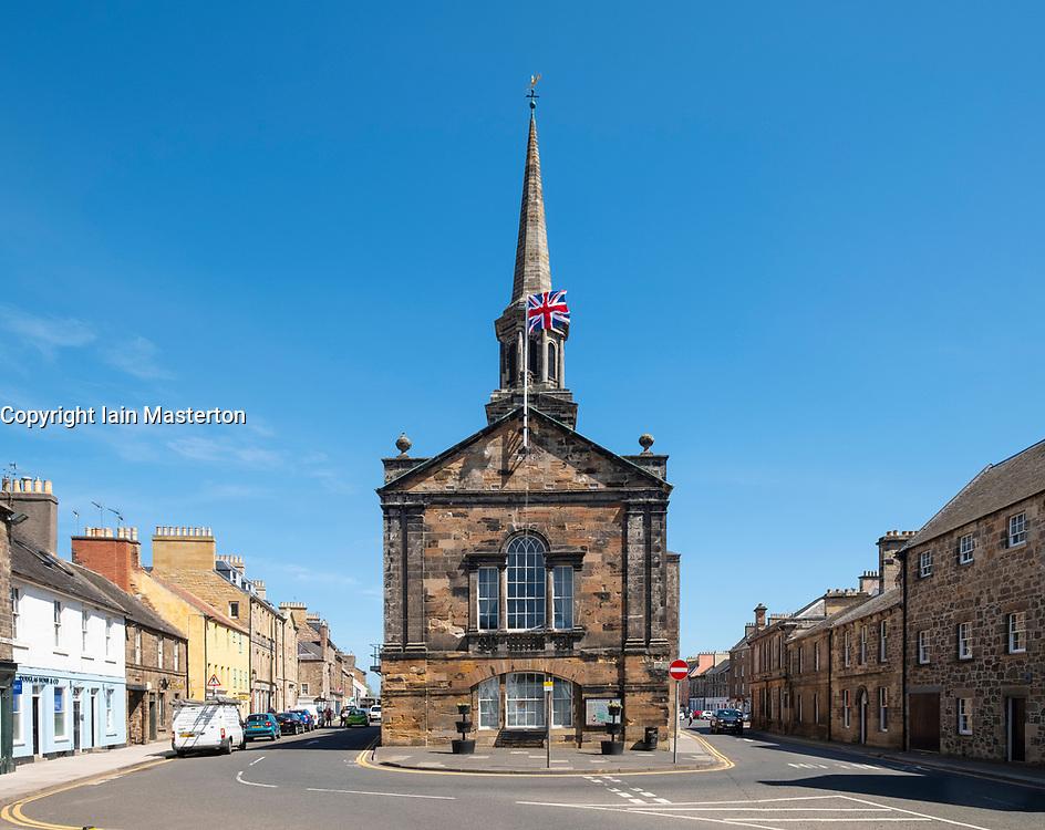 The Town House in Haddington , East Lothian, Scotland, UK