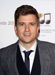 GREG JAMES arrives for the Radio Academy Awards, London, United Kingdom. Monday, 12th May 2014. Picture by i-Images