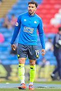 Huddersfield Town midfielder Daniel Williams (19) warms up prior to the Premier League match between Crystal Palace and Huddersfield Town at Selhurst Park, London, England on 30 March 2019.