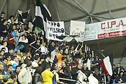 DESCRIZIONE : Scafati Lega A2 2005-06 Eurorida Scafati Carife Ferrara <br /> GIOCATORE : Tifosi <br /> SQUADRA : Carife Ferrara <br /> EVENTO : Campionato Lega A2 2005-2006 <br /> GARA : Eurorida Scafati Carife Ferrara <br /> DATA : 13/04/2006 <br /> CATEGORIA : Esultanza <br /> SPORT : Pallacanestro <br /> AUTORE : Agenzia Ciamillo-Castoria/G.Ciamillo