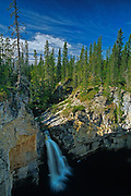 McNallie Creek Falls on the Waterfalls Route (Highway) (Mackenzie Highway)<br /> near Enterprise<br /> Northwest Territories<br /> Canada