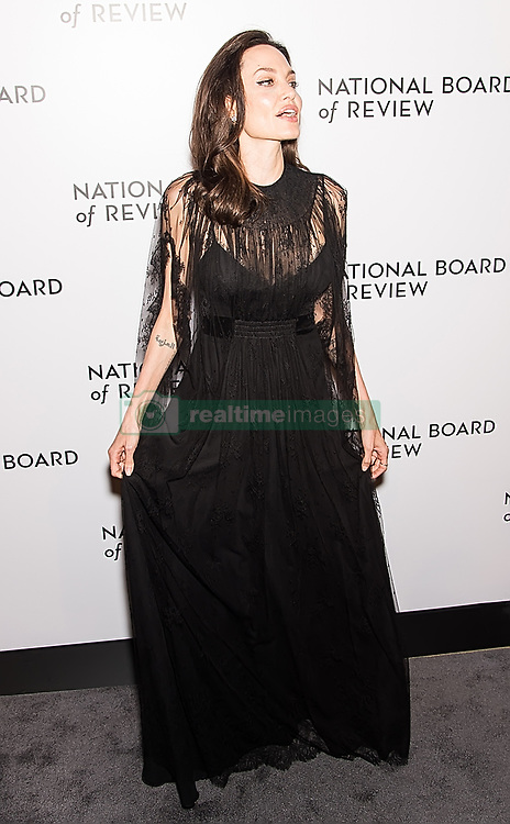 Angelina Jolie, Shiloh Jolie-Pitt, Zahara Jolie-Pitt, and Cambodian-born American human-rights activist Loung Ung attend the 2018 National Board Of Review Awards Gala at Cipriani 42nd Street in New York City. 09 Jan 2018 Pictured: Angelina Jolie. Photo credit: MEGA TheMegaAgency.com +1 888 505 6342
