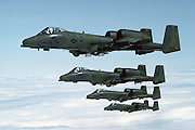 A-10s over England