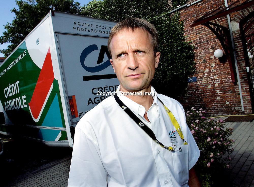 Lierse , 20040702.Tour de France. Denis Roux...Foto: Daniel Sannum Lauten/Dagbladet