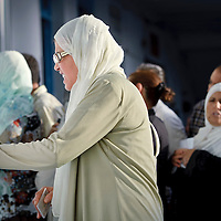Tunis, Tunisia 23 October 2011<br /> Tunisian women check the voter list in a polling station during the Constituent Assembly election.<br /> Photo: Ezequiel Scagnetti © European Union