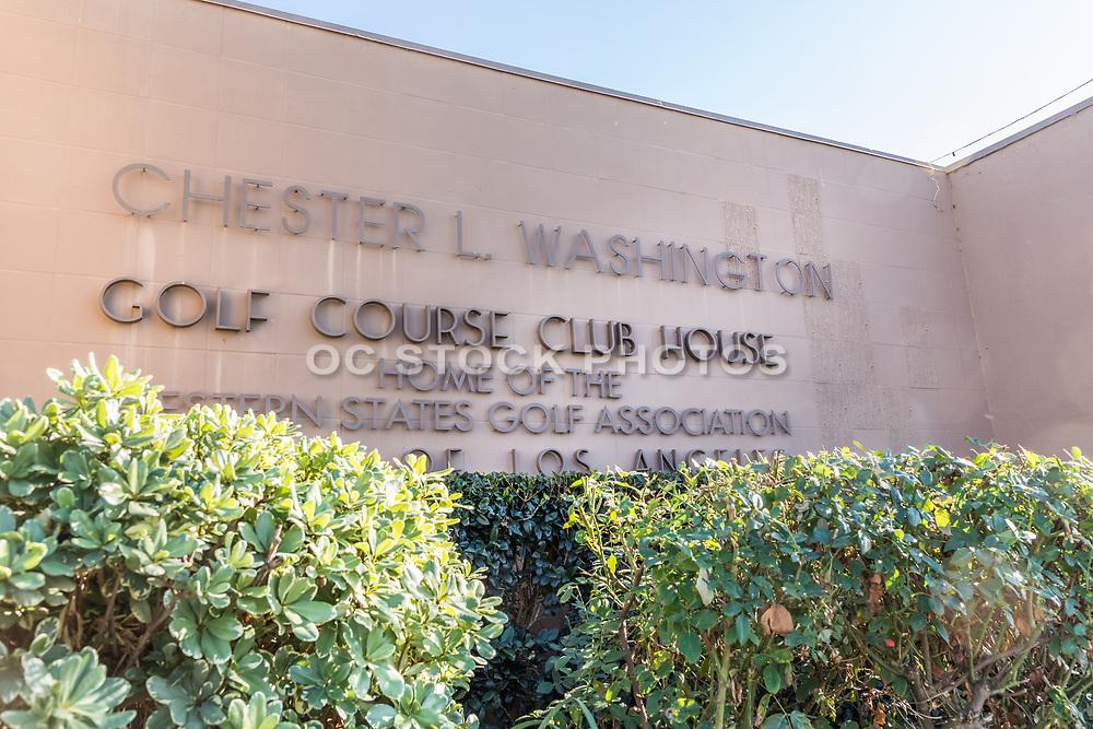 Chester L. Washington Golf Course Club House