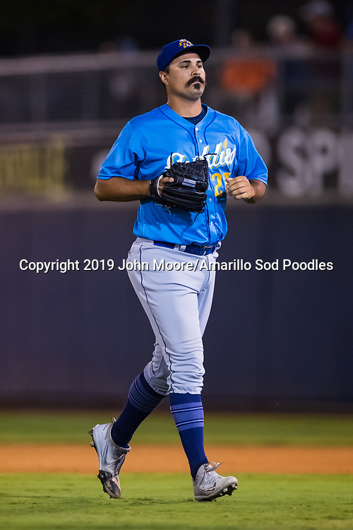 Amarillo Sod Poodles pitcher Travis Radke (27) against the Tulsa Drillers during the Texas League Championship on Saturday, Sept. 14, 2019, at OneOK Field in Tulsa, Oklahoma. [Photo by John Moore/Amarillo Sod Poodles]