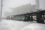 22 Jan 2005:Snow removal crews during a storm the Saturday before the Philadelphia Eagles vs Atlanta Falcons  NFC Championship Game at Lincoln Financial Field in Philadelphia, PA. <br /> <br /> Mandatory Credit:Todd Bauders/ContrastPhotography.com