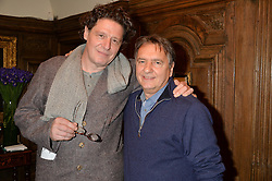 Left to right, MARCO PIERRE WHITE and RAYMOND BLANC at a lunch hosted by Fortnum & Mason, Piccadilly, London on 29th January 2015 in honour of Marco Pierre White and the publication of White Heat 25.