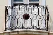 Santa Leopoldina_ES, Brasil...Detalhe de uma sacada em Santa Leopoldina...Detail of balcony in Santa Leopoldina...Foto: LEO DRUMOND / NITRO