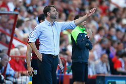 Aston Villa Manager Tim Sherwood - Mandatory by-line: Jason Brown/JMP - Mobile 07966 386802 08/08/2015 - FOOTBALL - Bournemouth, Vitality Stadium - AFC Bournemouth v Aston Villa - Barclays Premier League - Season opener