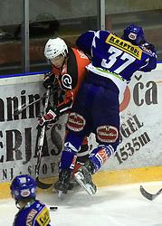 Miha Brus (16) ice hockey match Acroni Jesencie vs EC Pasut VSV. in EBEL League,  on November 23, 2008 in Arena Podmezaklja, Jesenice, Slovenia. (Photo by Vid Ponikvar / Sportida)
