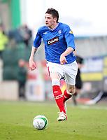 Football - Scottish Premier League - Hibs vs Rangers<br /> <br /> <br /> Rangers win 2009 - 2010 SPL<br /> <br /> Rangers Kyle Lafferty
