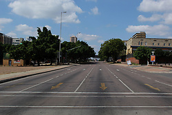 Apr 11, 2020 - Pretoria, gauteng, South africa - South Africa lock down, an empty street at Pretoria central on 11th April 2020 (Credit Image: © Manash das/ZUMA Wire/ZUMAPRESS.com)