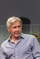 July 22, 2017 - Blade Runner 2049, Alcon Entertainment's sequel to the cult classic, which takes us 30 more years into the future, with stars Ryan Gosling and Harrison Ford as well as Ana de Armas, Sylvia Hoeks, Robin Wright, Lennie James, and Mackenzie Davis, writers Hampton Fancher and Michael Green, and the film's director, Denis Villeneuve (Credit Image: © Daren Fentiman via ZUMA Wire)