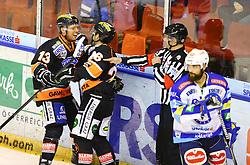 26.12.2012, Eisstadion Liebenau, Graz, AUT, EBEL, Graz 99ers vs EC VSV, 34. Runde, im Bild Jubel nach dem Tor zum 2 zu 0 durch Olivier Labelle (99ers, #13)  // during the Erste Bank Icehockey League 34th Round match betweeen Graz 99ers and EC VSV at the Icehockey Stadium Liebenau, Graz, Austria on 2012/12/26. EXPA Pictures © 2012, PhotoCredit: EXPA/ Patrick Leuk