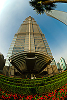 The Jin Mao Tower, Lujiazui Financial District, Pudong area, Shanghai, China