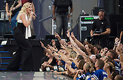 INDIANAPOLIS, IN - SEPTEMBER 06:  Musician Faith Hill performs during the 2007 NFL Opening Kick-Off - Show on September 6, 2007 in Indianapolis, Indiana.  (Photo by Michael Hickey/WireImage) Photo by Michael Hickey