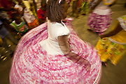 Macapa_AP, Brasil...Comunidade remascente de quilombolas do Curiau, em Macapa, Amapa. Na foto a danca tipica Marabaixo...The Quilombola remaining of Curiau, in Macapa, Amapa. In this photo  the typical dance Marabaixo...Foto: JOAO MARCOS ROSA / NITRO