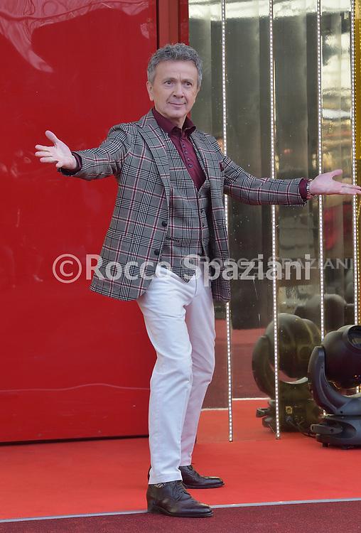Enzo Ghinazzi aka pupo durante il photocall della quarta edizione del Grande Fratello Vip , 7.01.2020