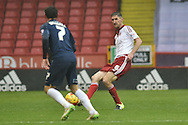 Sheffield United midfielder Chris Basham during the Sky Bet League 1 match between Sheffield Utd and Southend United at Bramall Lane, Sheffield, England on 14 November 2015. Photo by Ian Lyall.
