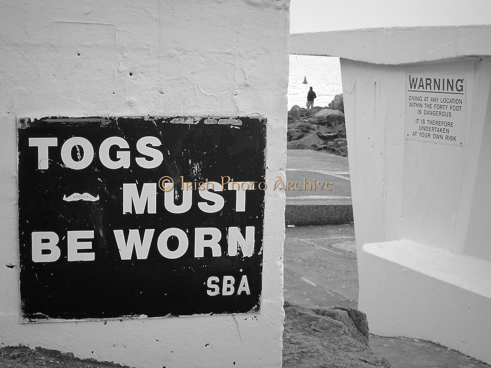 Sandycove bating spot was once reserved for men so they could bath without women judging the qualities.