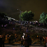 Charlotte, NC- September 22, 2016: Protestors and media look on as a segment of the demonstration shut down traffic on Interstate 277. CREDIT: LOGAN R. CYRUS FOR THE NEW YORK TIMES