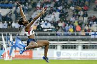 Friidrett<br /> VM 2005 Helsinki<br /> Foto: Dppi/Digitalsport<br /> NORWAY ONLY<br /> <br /> ATHLETICS - IAAF WORLD CHAMPIONSHIPS 2005 - HELSINKI (FIN) - 7/08/2005<br /> <br /> WOMEN LONG JUMP - TIANA MADISON (USA) / WINNER