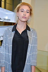 HAILEY BALDWIN at the Prism Boutique Summer Party held at Prism, 54 Chiltern Street, London on 14th May 2014.