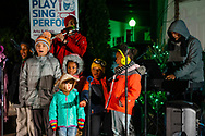 Cornwall, New York - Middletown Holiday Parade and Tree Lighting on Nov. 23, 2018.