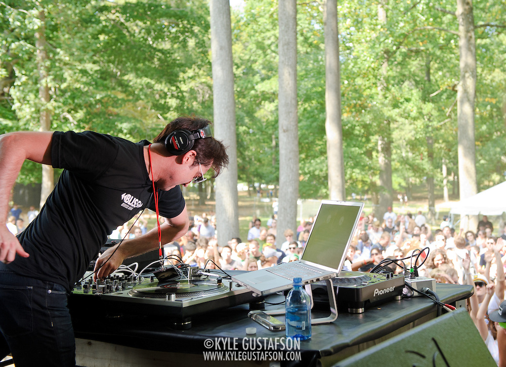 Will Eastman opens the Dance Forest at the 2010 Virgin Mobile FreeFest at Merriweather Post Pavilion.