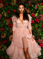 Maya Jama attending the Evening Standard Theatre Awards 2018 at the Theatre Royal, Drury Lane in Covent Garden, London.