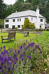 Inverewe House at Inverewe Garden , Wester Ross , Scotland, United Kingdom