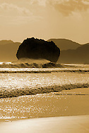 Witch's Rock in Sepia