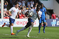 Arvin Appiah of Englandduring the UEFA European Under 17 Championship 2018 match between England and Italy at the Banks's Stadium, Walsall, England on 7 May 2018. Picture by Mick Haynes.