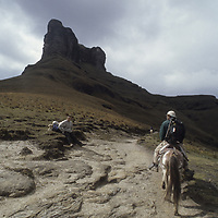Trail to Mt. Shubet. Mt. Shubet bkg.