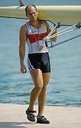 St Catherines, CANADA.  NOR M2X, Fredrik BEKKEN, 1999 World Rowing Championships. Ontario. [Mandatory Credit Peter SPURRIER/ Intersport Images] 1999 FISA. World Rowing Championships, St Catherines, CANADA