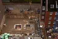 Blick auf eine Baustelle. 7.11.2019 Fotos Mauricio Bustamante