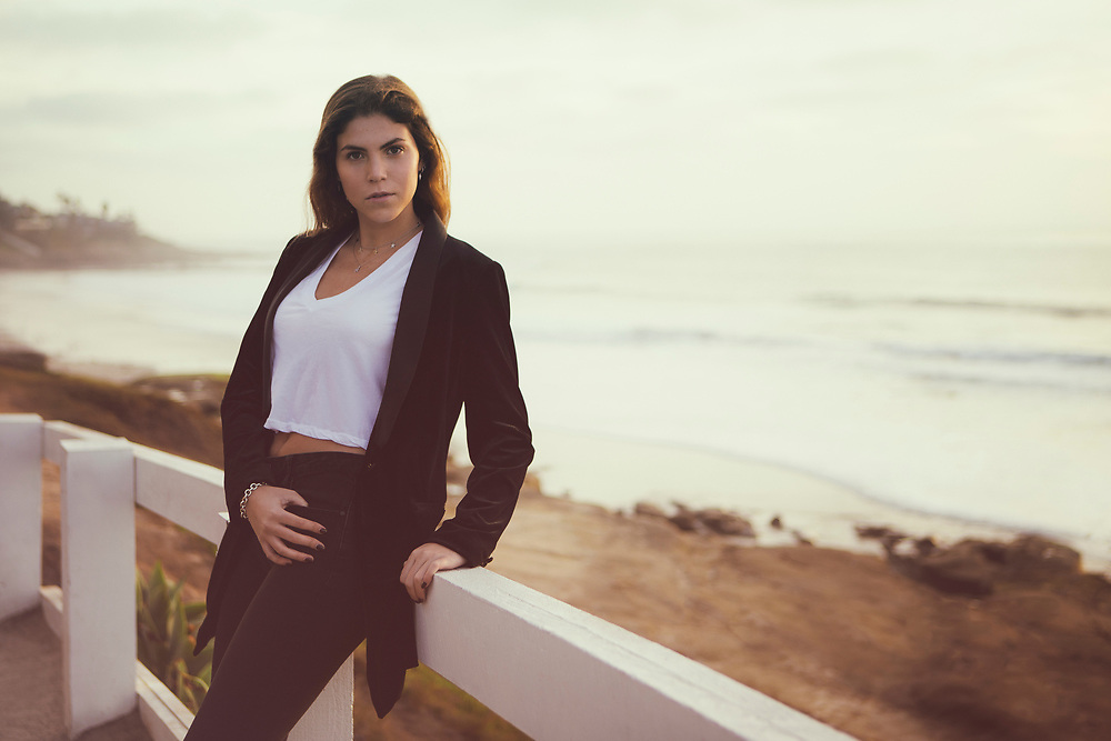 REBECCA Series featuring model Rebecca Valades from Paragon Model Management in Mexico City, Mexico. Shot at Windansea in La Jolla, San Diego, California.<br /> ©justinalexanderbartels.com