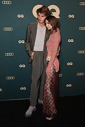 Emily Ratajkowski and Jordan Barrett arrive together on the red carpet for the 2018 GQ Men of the Year Awards presented by AUDI at The Star, Sydney. 14 Nov 2018 Pictured: Jordan Barrett, Emily Ratajkowski. Photo credit: Richard Milnes / MEGA TheMegaAgency.com +1 888 505 6342